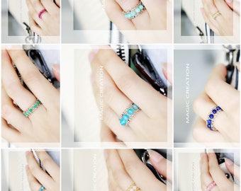 Handmade Crystal Rings