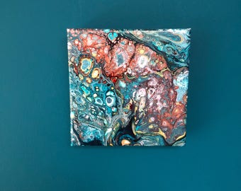 Inner strength acrylic original art