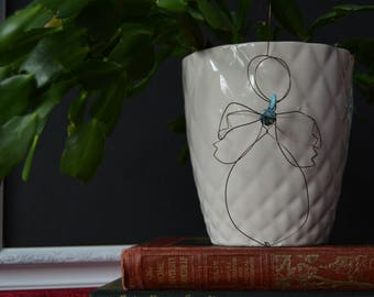 Rustic Copper Wire Angel