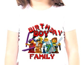 Iron On Transfer Lego, Lego Birthday Boy Shirt Iron On Transfer, Birthday Boy Iron On Transfer, Personalize Iron On Transfer