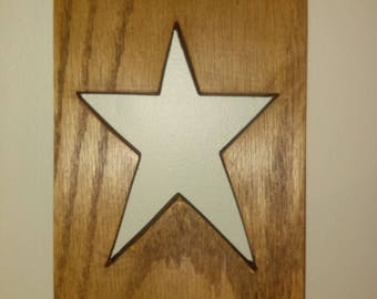 Star Placard