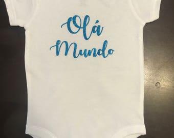 Ola Mundo (Hello World)