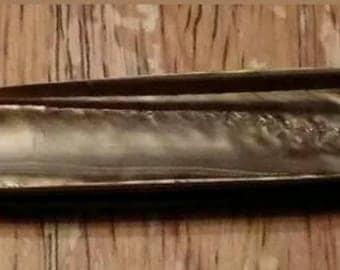 Rare Vintage 2 Blade Woodgrain Hammer Brand Pocket Knife Pen Knife