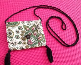 Organic cotton canvas hand bag