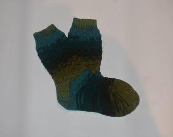 Forest Green Socks
