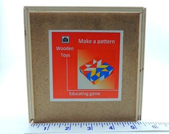 Geometrical Patterns in Wooden Blocks: Educational Game