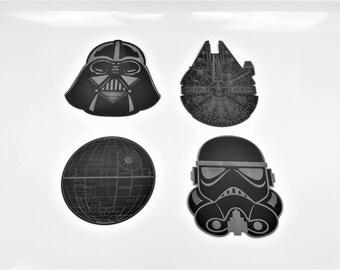 Star Wars Coasters (Set of 4)