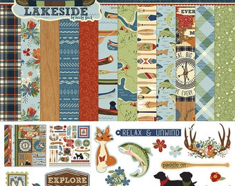 Photo Play Lakeside 12 x 12 Collection