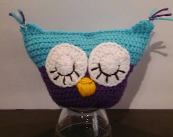 Crocheted Stuffed Owl
