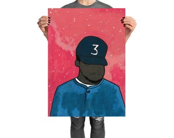 Blessings, Chance, Chance the Rapper, Chance the Rapper Print, Chance the Rapper Poster, Poster, Hip Hop, Rap, Hip Hop Poster, Rap Poster