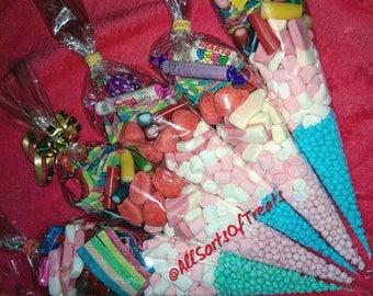 Personalised sweet cones