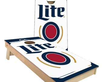Miller Lite Pro Style Cornhole Boards