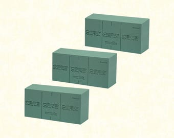 3 pcs: Floral Foam Bricks Standard