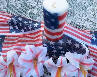 Independence Day Candle