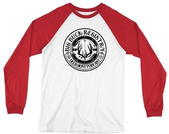 Big Buck Registry Long Sleeve Baseball T-Shirt