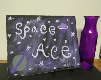 Space Ace on Canvas