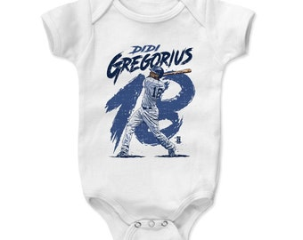Didi Gregorius Kids Onesie - New York Y Baseball Didi Gregorius Rough B