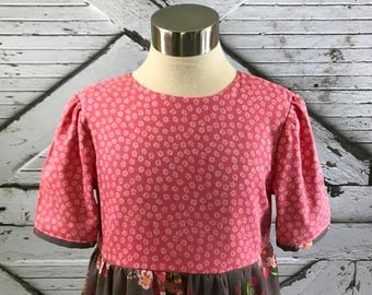 Spring Blooms Dress--Size 8