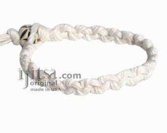 White Hemp Chain bracelet or Anklet