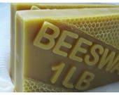 Natural Beeswax 1 pound Blocks