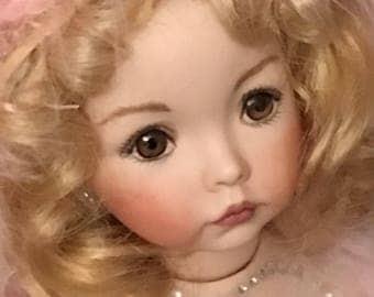 Victorian Doll Ornament