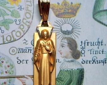 SALE GERMAN JESUS Charm Vintage Religious Medal
