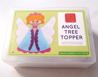 Angel Tree Topper - Medium Kit - Felt sewing kit
