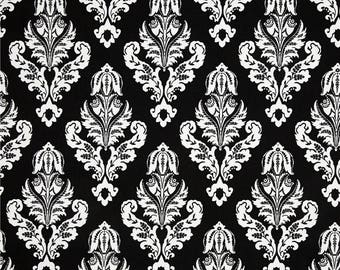 CLEARANCE - Premier Prints Avery Black White Home Decorating Fabric By The Yard