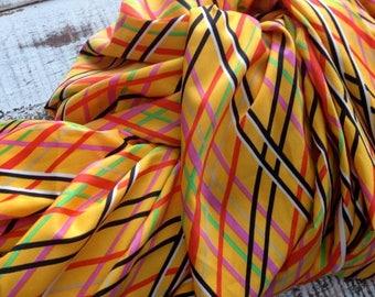SALE- Retro Silky Polyester Fabric