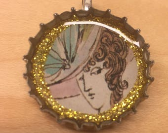 Lady With a Hat Pendant