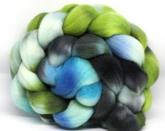 Polwarth Wool Top Hand Dyed Combed Fibre 100g  POL12