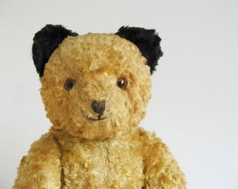 Vintage Sooty Bear Jointed Stuffed Animal 1950s Toy Teddy Bear Retro Toys Vintage Kids England