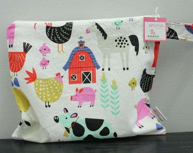Wet Bag wetbag Diaper Bag ICKY Bag wet proof farm gym bag swim cloth diaper accessories zipper gift newborn baby child kids beach