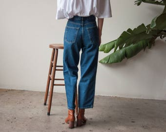 cropped easy fit jeans / cropped baggy jeans / 29 w / 3197t / B10