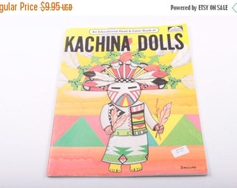 Hopi Indian, Katsina Dolls, An Educational Read and Color Book, Kachina Dolls, Classroom, Activity ~ The Pink Room ~ 170112
