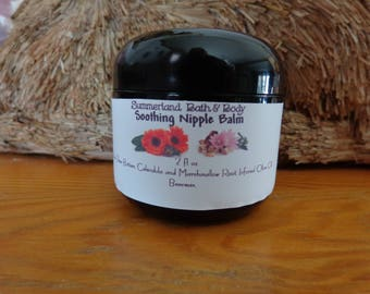 2 oz Nipple Nursing Cream with Calendula Oil and Marshmallow Root