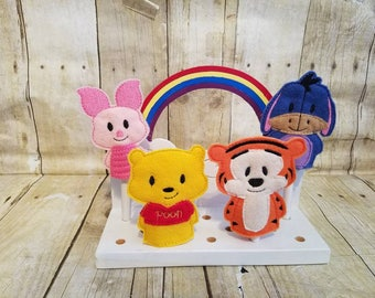 100 Acre Woods finger puppets