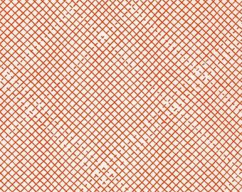 Carolyn Friedlander FABRIC - Euclid in Tangerine