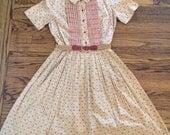 Vintage women's 1980's dress. Size S/M