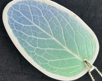 Aqua Periwinkle Ombre Necklace