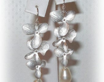 15% OFF Cascading Blossom Earrings