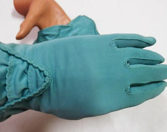 Vintage Nylon Gloves  size 7