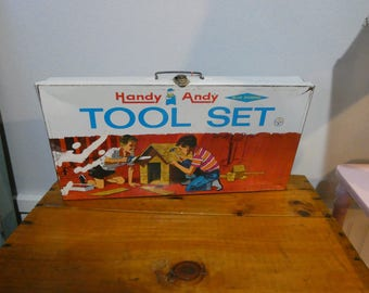 Handy Andy Tool Box - Vintage