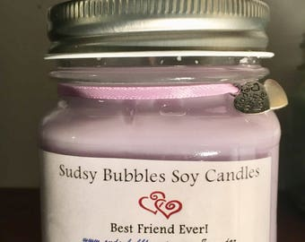 Best Friend soy candle 8 oz