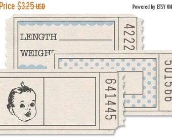 NOW ON SALE Jenni Bowlin Printed Tickets Baby Boy Tickets