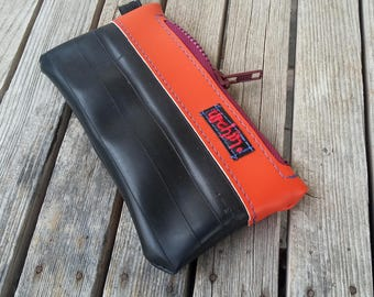 Eco Friendly Pouch - Made with Recycled Bike Tubes - Bike tube wallet