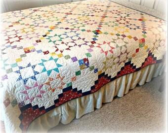 Lucky Stars Quilt Pattern #449e