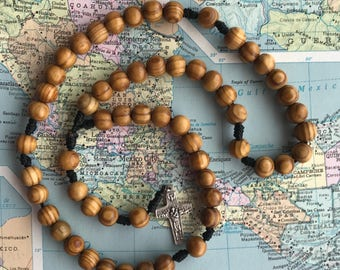 Wood Mission Rosary