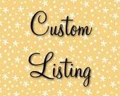Custom Listing For Cheryl