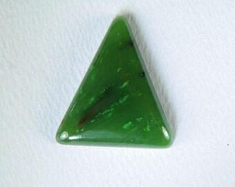 Green Nephrite Jade Custom Cabochon